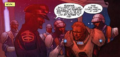 Karath captures Republic fugitive Dace Golliard.
