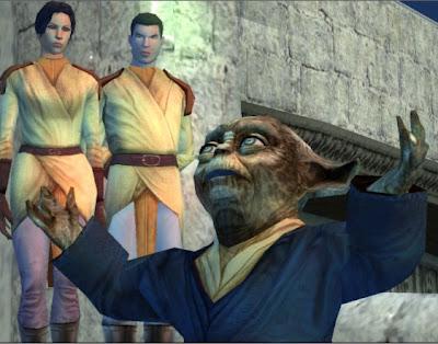 Master Vandar celebrates the destruction of the Star Forge.