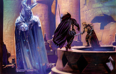 Sadow and Kressh duel for the mantle of Dark Lord.