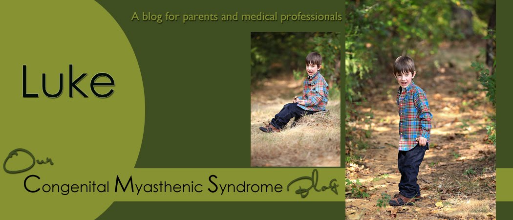 Luke and Congenital Myasthenic Syndrome