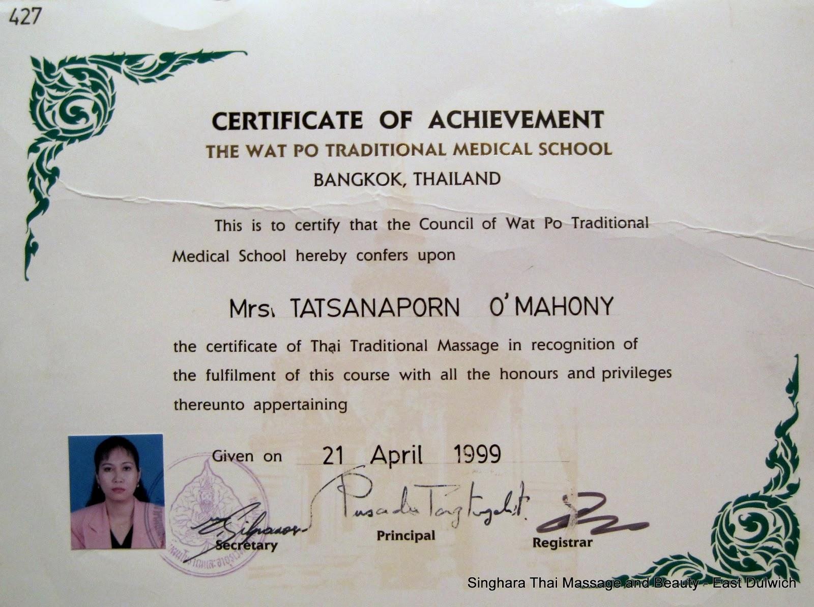 Massage I Uppsala Thai Hisingen