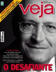 Geraldo Alckmin capa da Revista veja