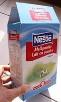 Melamine,milk from China