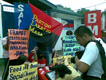 PLM picket at NICA