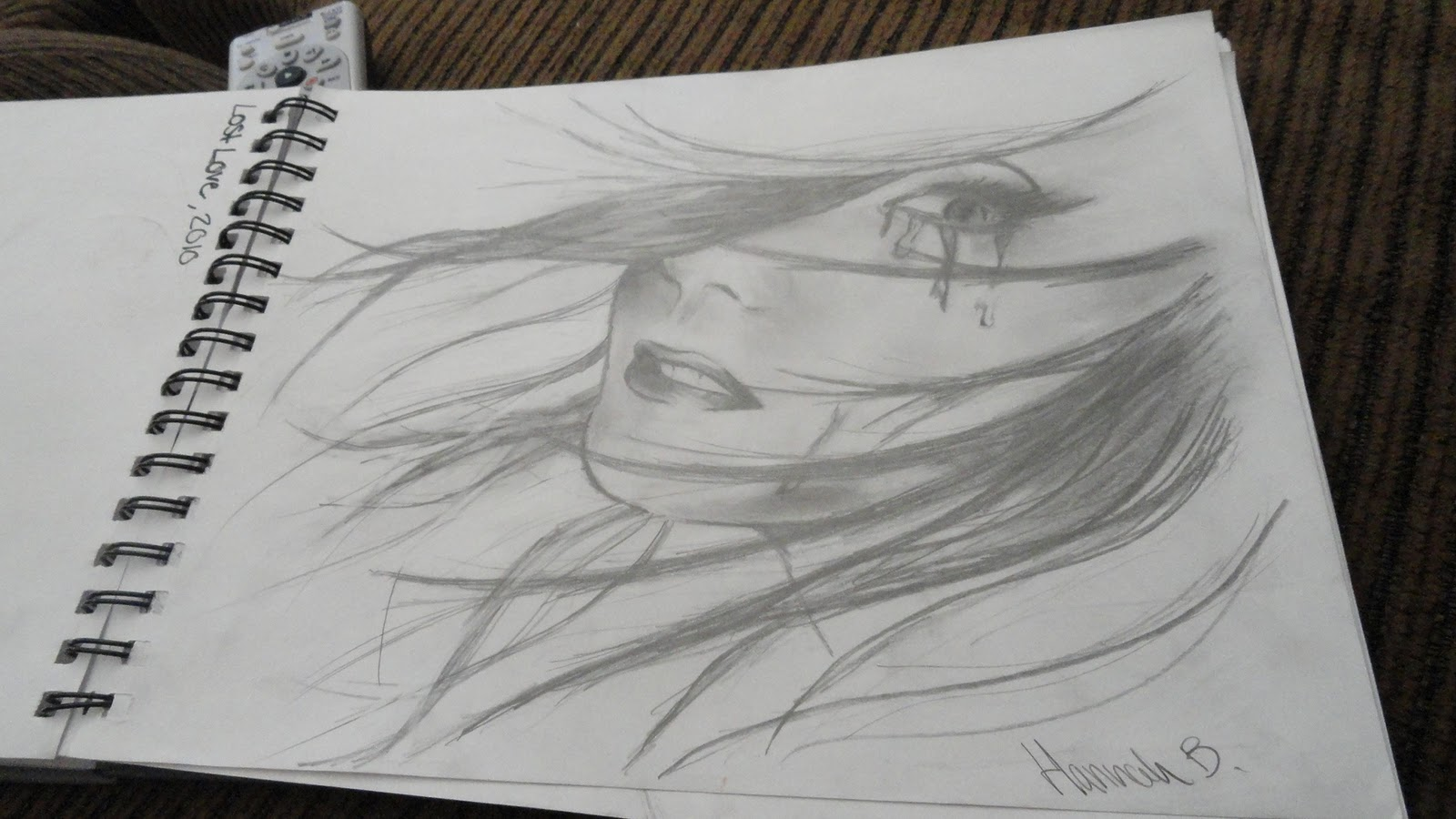 Depressed Girl Drawings images