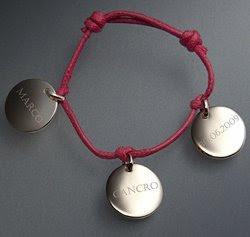 Regalo nascita, Idee Regalo, segno zodiacale, Gioielli, braccialetti con nome, braccialetti con ciondoli