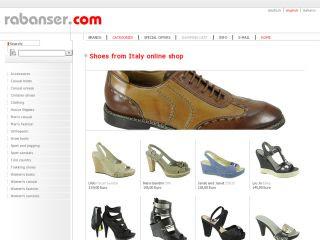 ae9e024dce765 Rabanser è un portale di vendita Online di Scarpe uomo