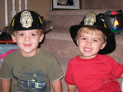 We're gonna be Firemen for Halloween!