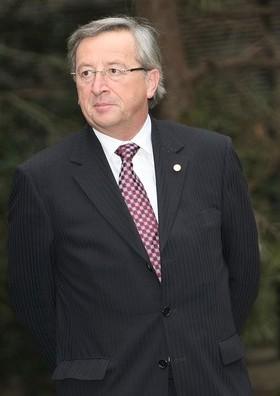 Jean-Claude Juncker Luxembourg Miniszterelnöke és a Eurogroup elnöke (katt a képre)