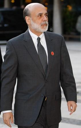 Ben Bernanke, U.S. Federal Reserve Elnöke (katt a képre)