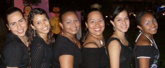 Bailarinas de Caguacao.