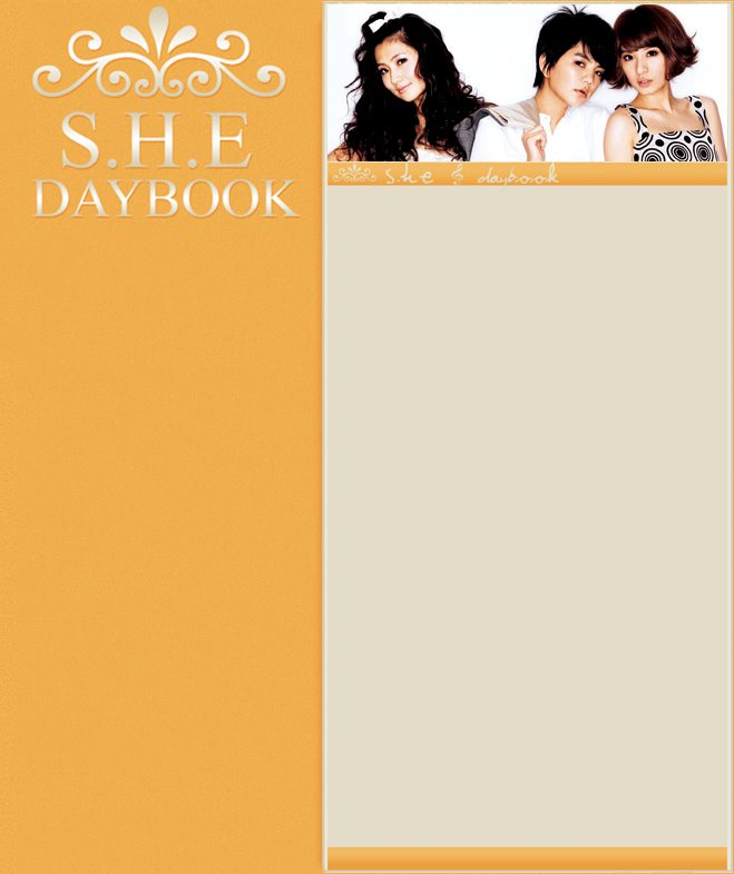 S.H.E Daybook