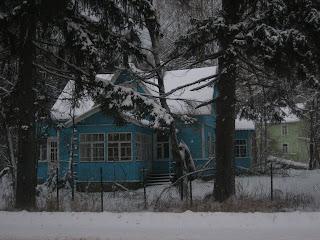 Загородный, деревенский дом