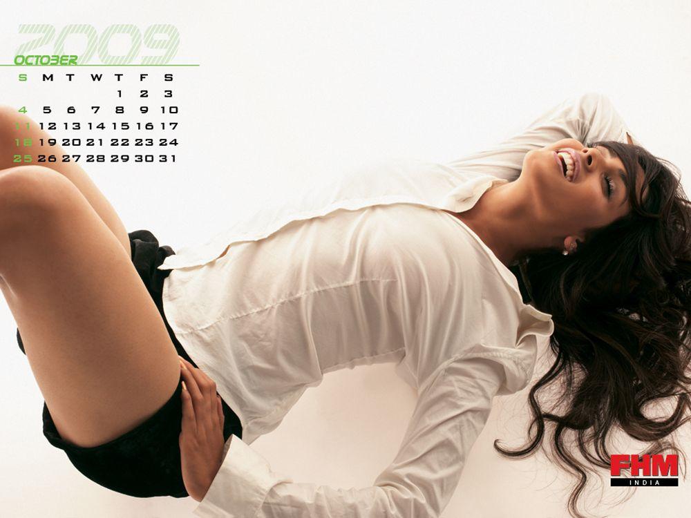 , FHM 2009 Calendar | India FHM Calendar 2009 Wallpapers | Full  Calendar FHM Magazine India