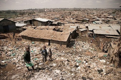 Kibera in Nairobi, Kenya 
