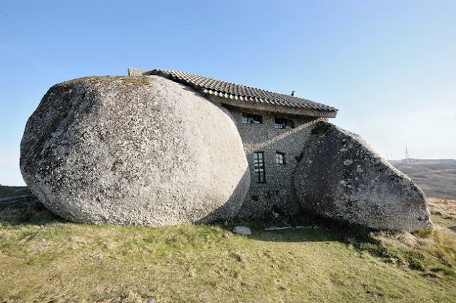 Stone House in Guimaraes, Portugal