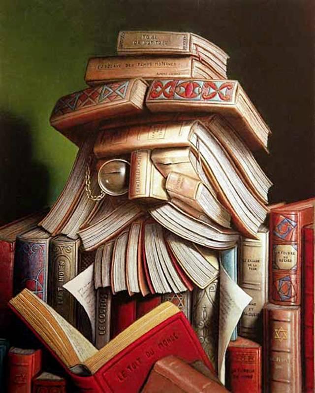 صور فنية مذهلة من الكتب القديمة