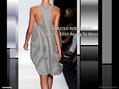 Narciso Rodriguez Spring 2010 Ready To Wear