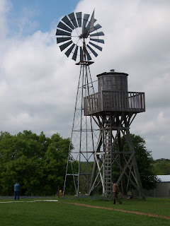 Another shot of this cool windmill.  Look like Texas or what?
