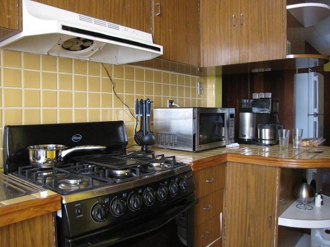 cocina equipada - equiped kitchen