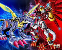shine greemon&metal garurumon