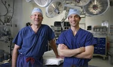Our heroes and surgeons: Dr. Cleveland and Dr. Nigro