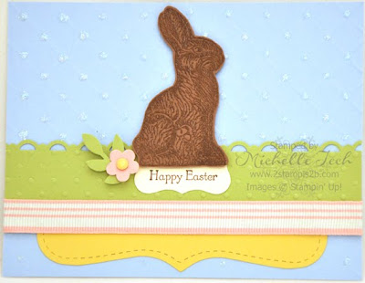 Stampin Up Chocolate Bunny Leadership Swap 2stampis2b Michelle Tech