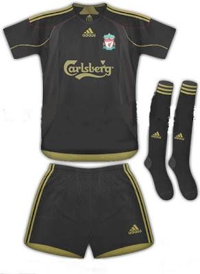 Liverpool stars model next seasons new away kit (video)