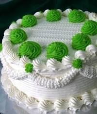 Resep Cake Pandan vla Pandan