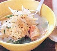 Sup Tofu Bawang