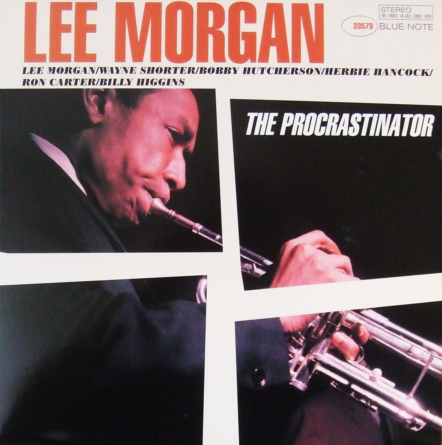 lee morgan - the procrastinator (sleeve art)