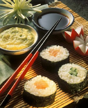 Trabajos de sociales gastronom a japonesa for Mesa japonesa tradicional