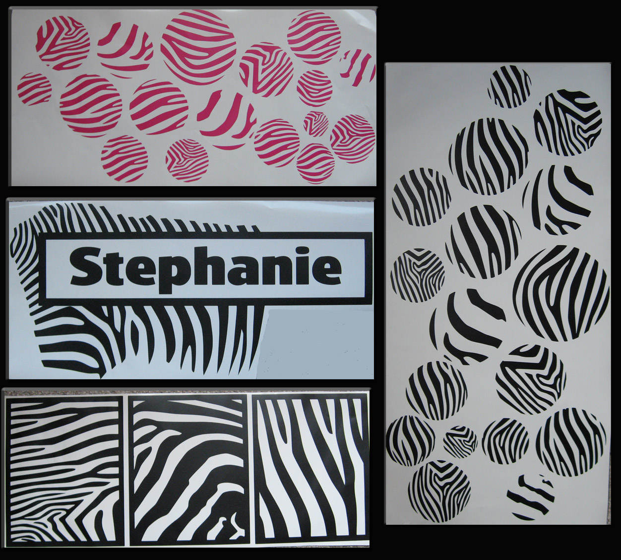 Decorating With Wall Vinyl New Wall Vinyl Decor Zebra