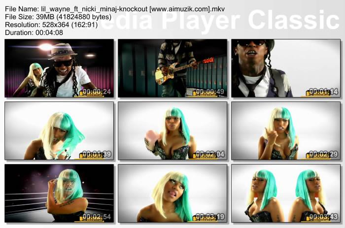 MV : Lil Wayne Ft Nicki Minaj – Knockout x264 2010-SNO. Artist: Lil Wayne