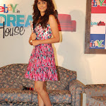 Photos of Genelia D'Souza on Ebay Promotion Event