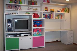 Pm2 proyectos mobiliarios casa ni os - Mueble organizador de juguetes ...