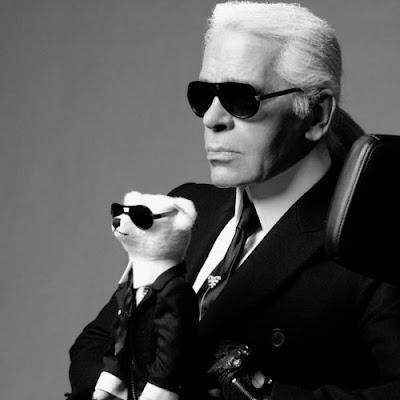 karl lagerfeld. Karl Lagerfeld Teddy Bear!