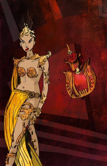 Princess Aura From Flash Gordon W J C: Princess Aura a...