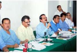 El Secretario de Planeacion y Desarrollom Económico comparece ante la Comisin de Hacienda
