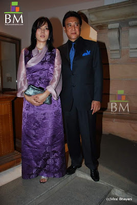 Gawa Denzongpa - Danny Denzongpa at Dr PK Agarwal's daughter's wedding