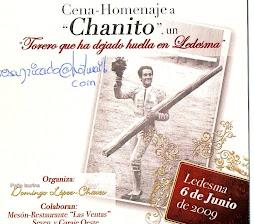 Chanito, presente en el cariño de la afición de Ledesma
