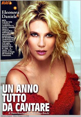 Eleonora Daniele Diva Pics January 2009