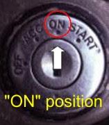 Ignition key On