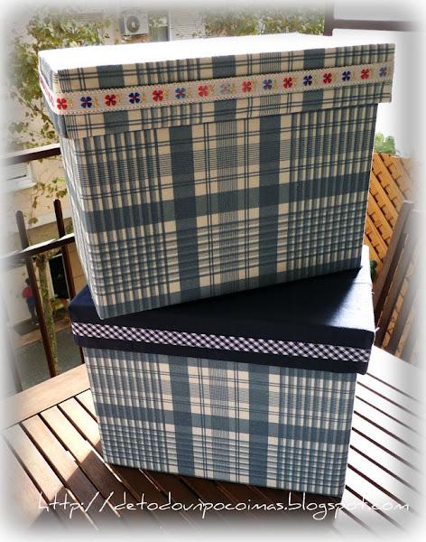Cajas de carton aprender manualidades es - Cajas grandes de carton decoradas ...