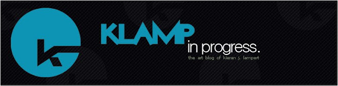 Klamp In Progress - The Art Blog of Kieran J. Lampert