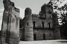 "láminas serie ""castillos de Gondar"""