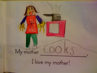 My+mommy+cooks My mommy cooks. My mommy cleans. My mommy loves me.