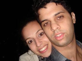 Eu e minha esposa!