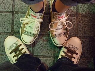 閃亮亮情侶鞋