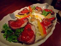 生烤牛肉沙拉